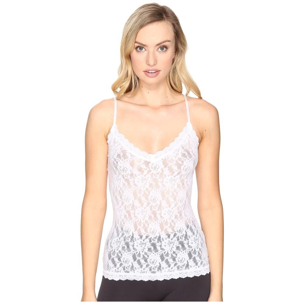 ハンキーパンキー レディース インナー・下着 パジャマ・トップのみ【Signature Lace V-Front Cami】White