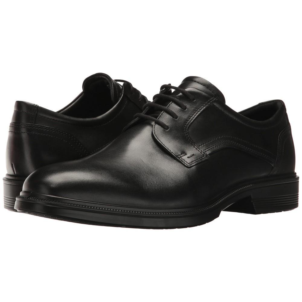 エコー メンズ シューズ・靴 革靴・ビジネスシューズ【Lisbon Plain Toe Tie】Black