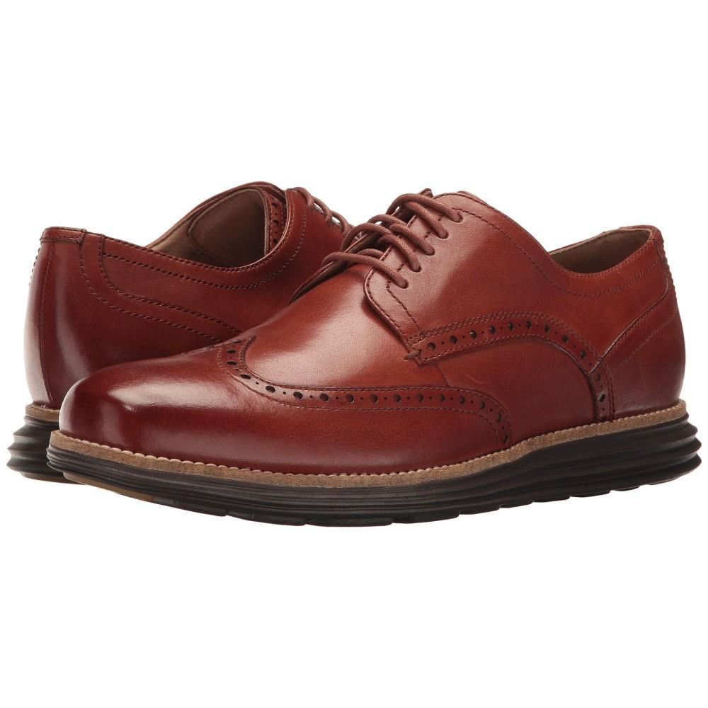 コールハーン メンズ シューズ・靴 革靴・ビジネスシューズ【Original Grand Shortwing】Woodbury Leather/Java