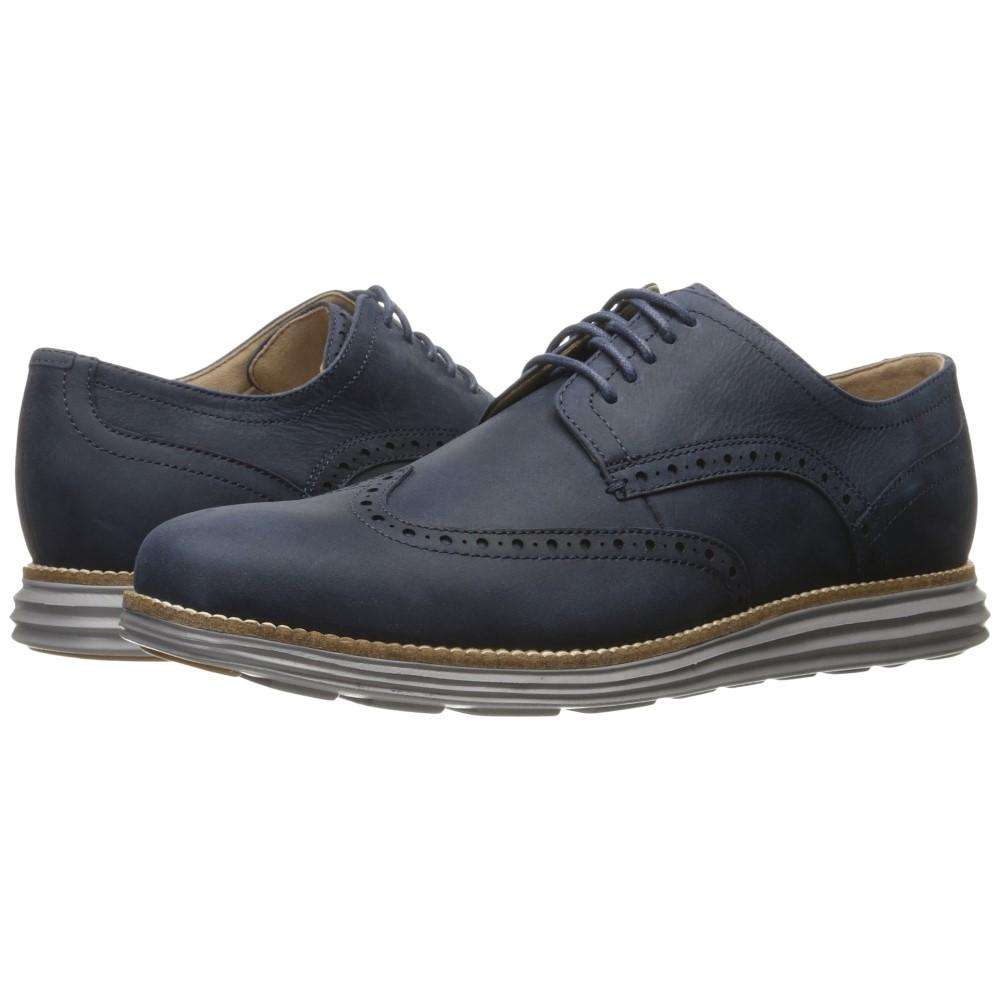 コールハーン メンズ シューズ・靴 革靴・ビジネスシューズ【Original Grand Shortwing】Blazer Blue Leather/Ironstone