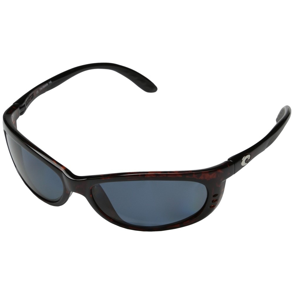 コスタ メンズ ファッション小物 スポーツサングラス【Fathom 580 Plastic】Black/Gray 580 Plastic Lens