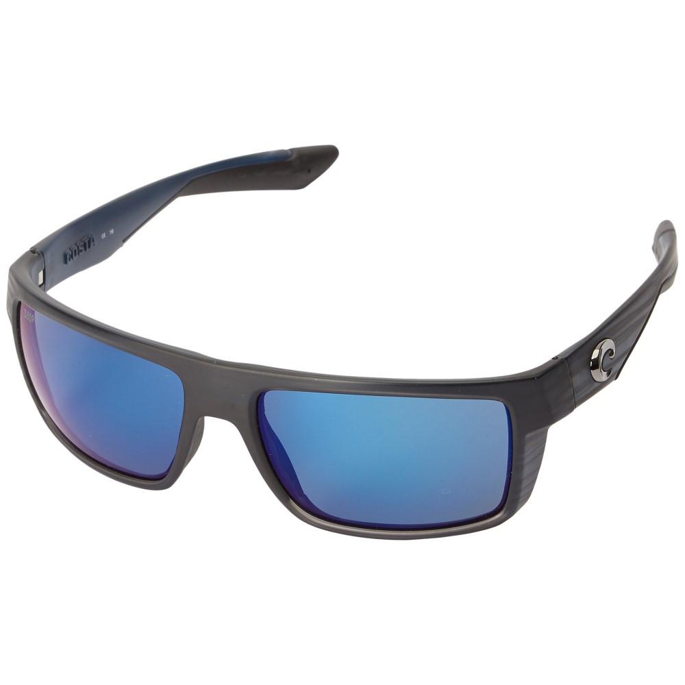 コスタ メンズ ファッション小物 メガネ・サングラス【Motu】Black Teak Frame/Blue Mirror 580P
