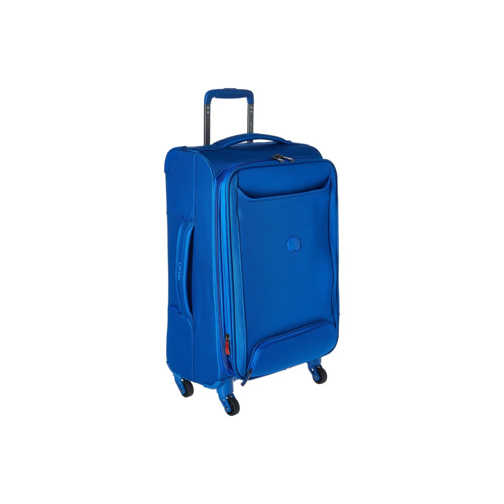 デルシー メンズ バッグ スーツケース・キャリーバッグ【Chatillon Carry-On Expandable Spinner Trolley】Blue