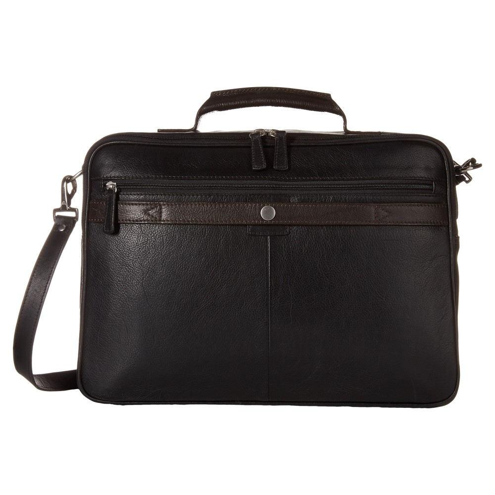スカーリー メンズ バッグ ビジネスバッグ・ブリーフケース【Aaron Workbag Brief】Black/Brown