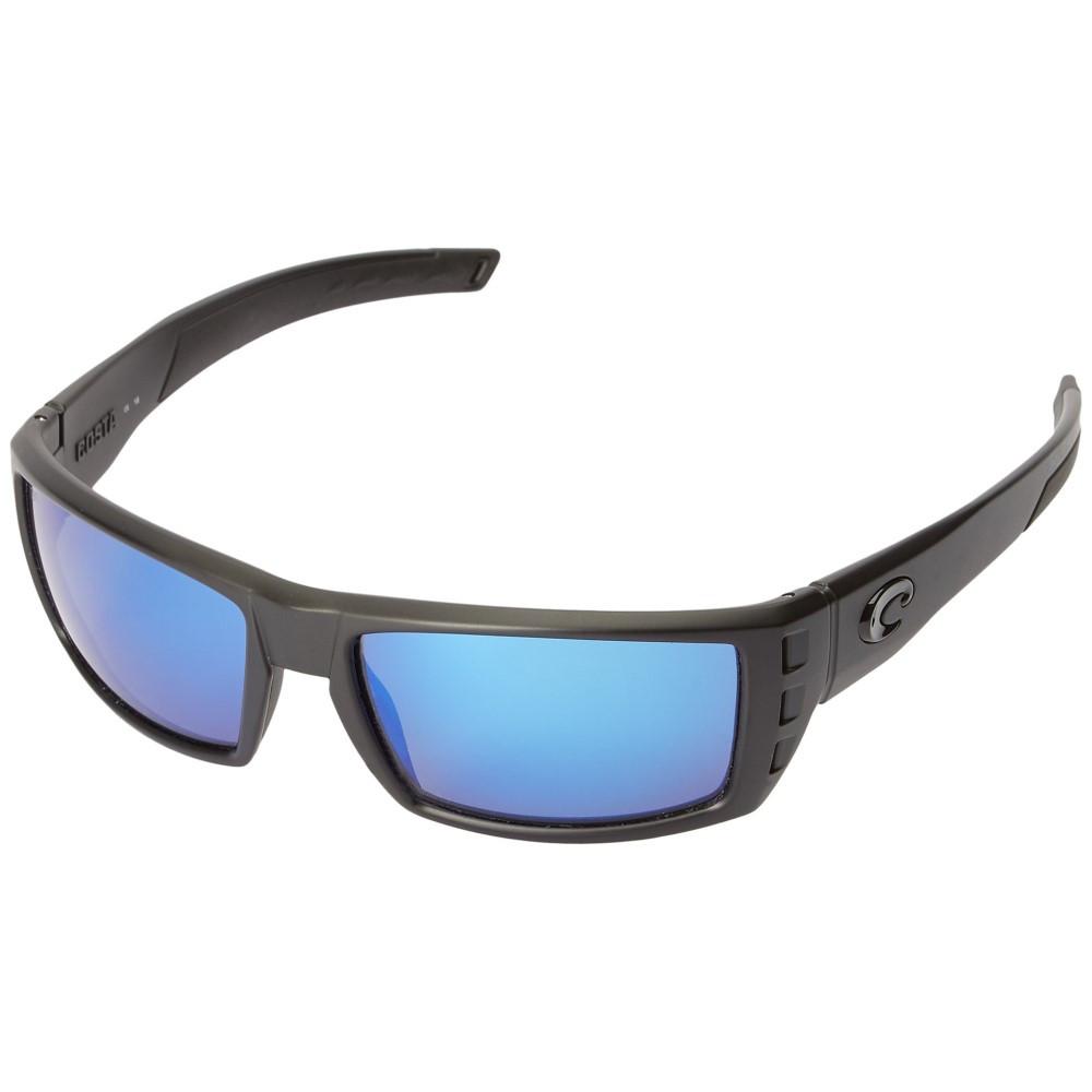 コスタ メンズ ファッション小物 スポーツサングラス【Rafael】Blackout Frame/Blue Mirror Glass W580