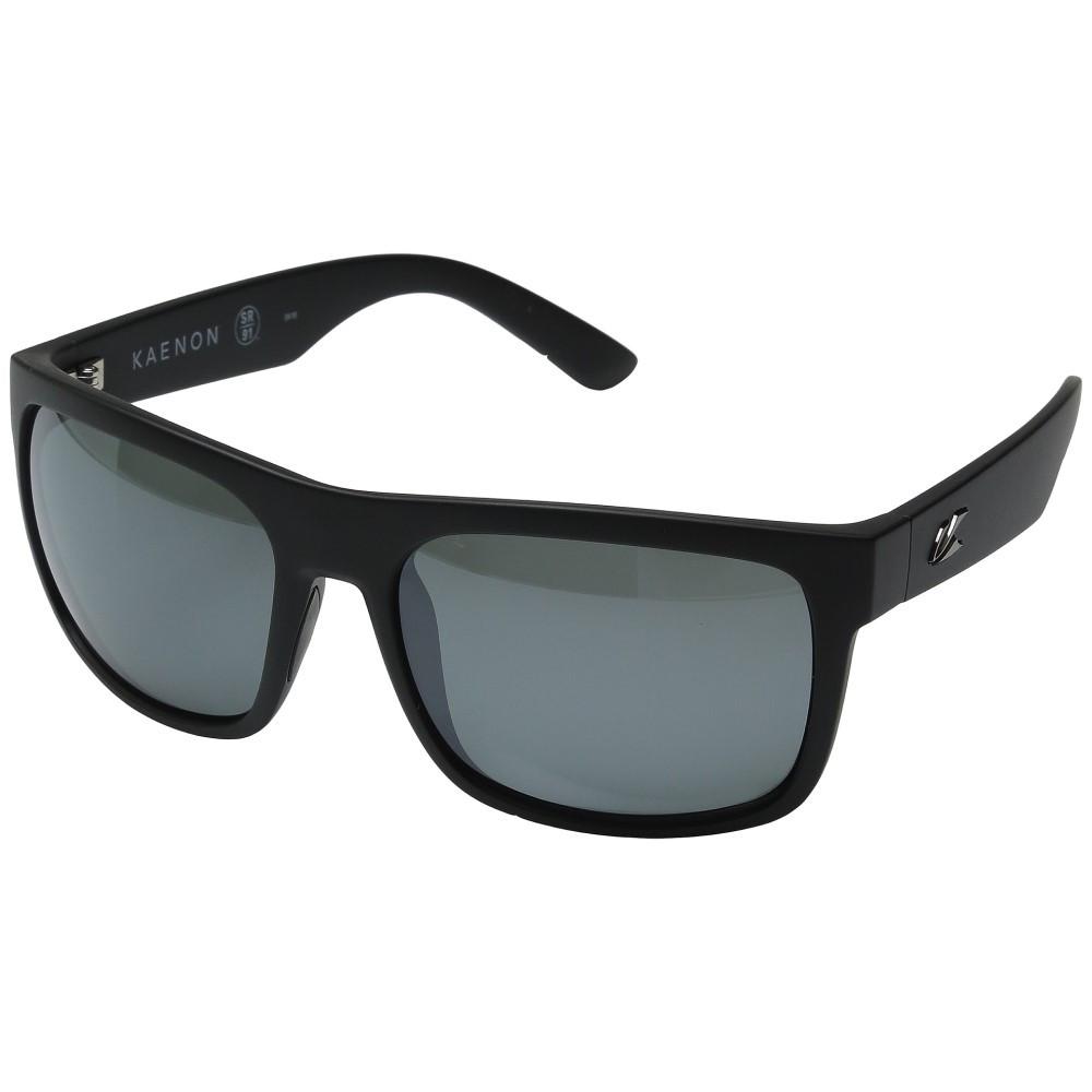 カエノン メンズ ファッション小物 スポーツサングラス【Burnet Xl】Black Label/Grey 12 Polarized Black Mirror