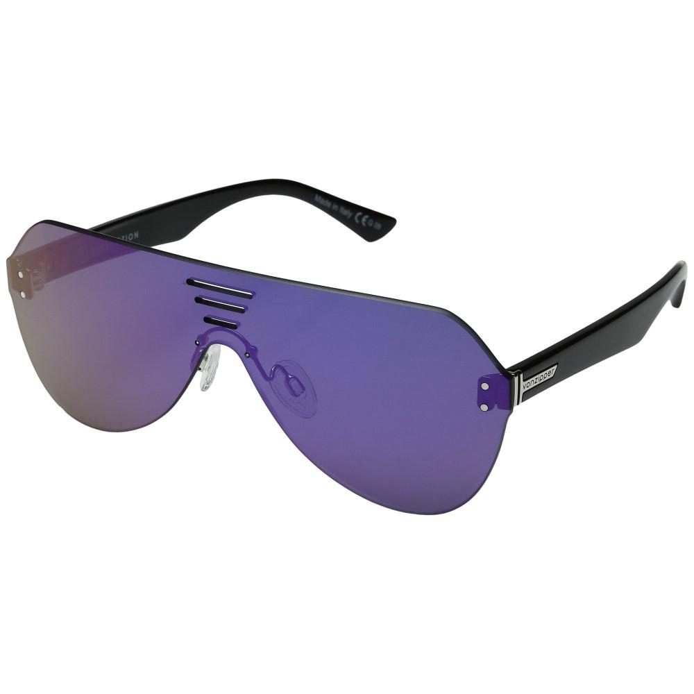 ボンジッパー メンズ ファッション小物 スポーツサングラス【Alt-Farva】Black Gloss/Flash Pink