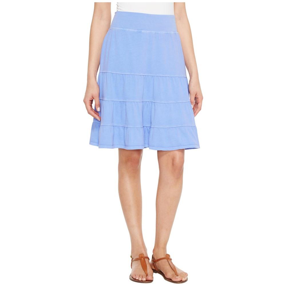フレッシュプロデュース レディース スカート ミニスカート【Jersey Tiered Skirt】Periwinkle