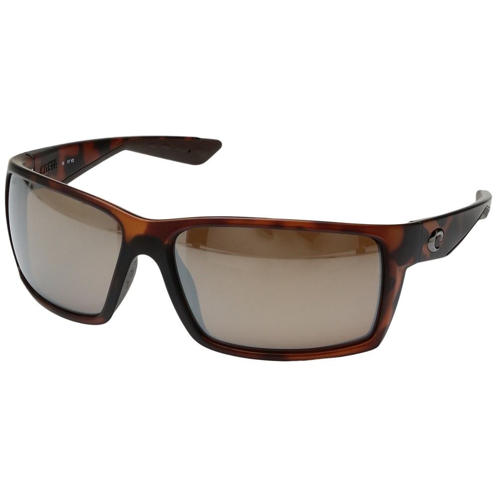 コスタ メンズ ファッション小物 スポーツサングラス【Reefton】Matte Retro Tortoise Frame/Silver Mirror Glass W580