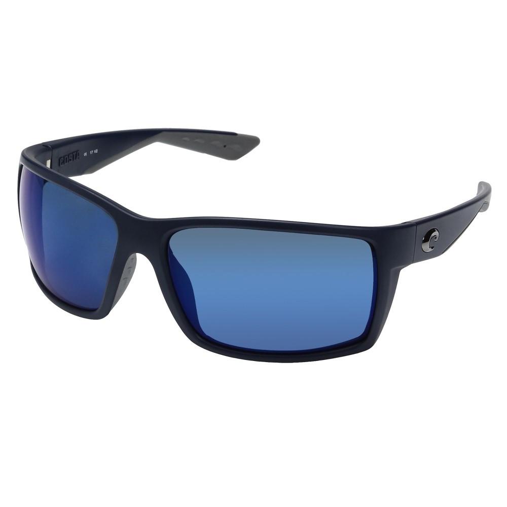 コスタ メンズ ファッション小物 スポーツサングラス【Reefton】Matte Blue Frame/Blue Mirror 580P