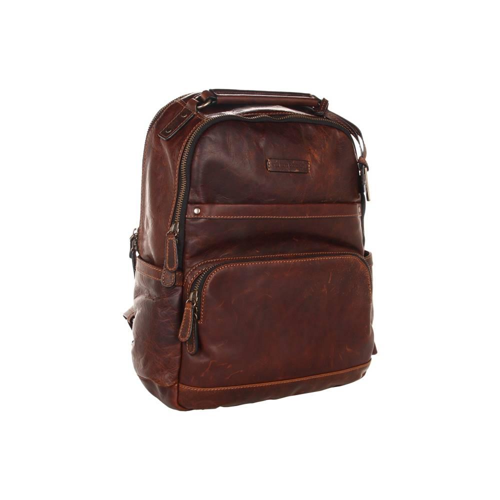 フライ メンズ バッグ バックパック・リュック【Logan Backpack】Dark Brown Antique Pull Up
