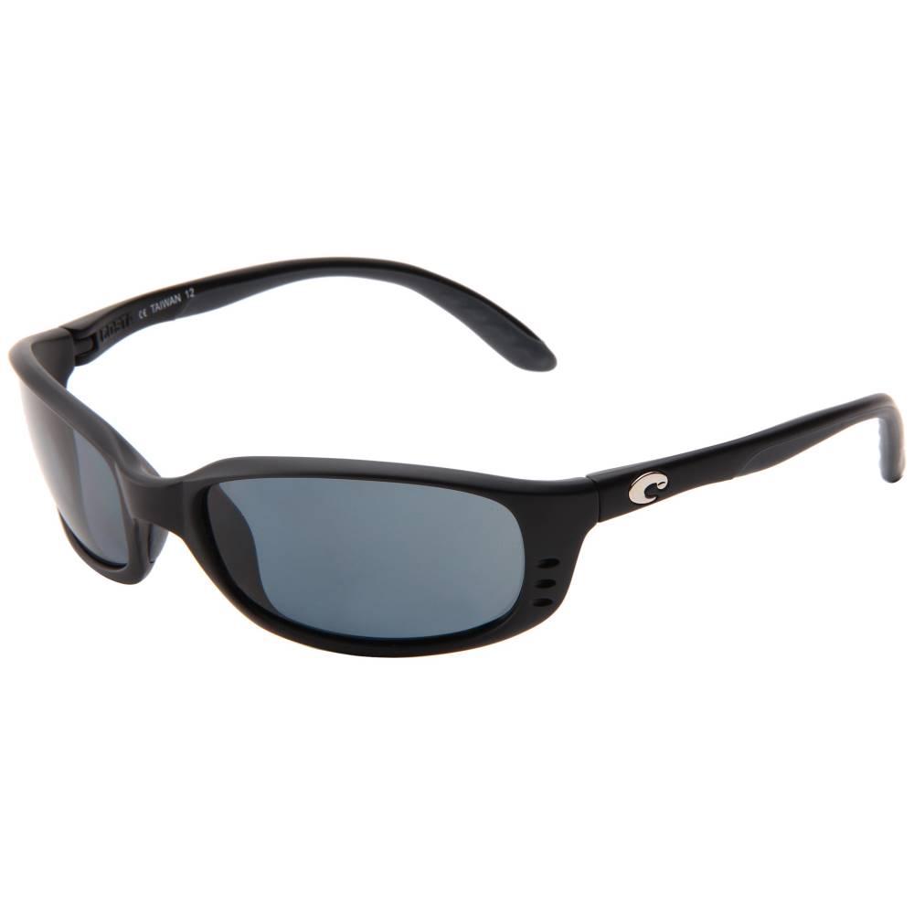 コスタ メンズ ファッション小物 スポーツサングラス【Brine 580 Plastic Lens】Black/Gray 580 Plastic Lens