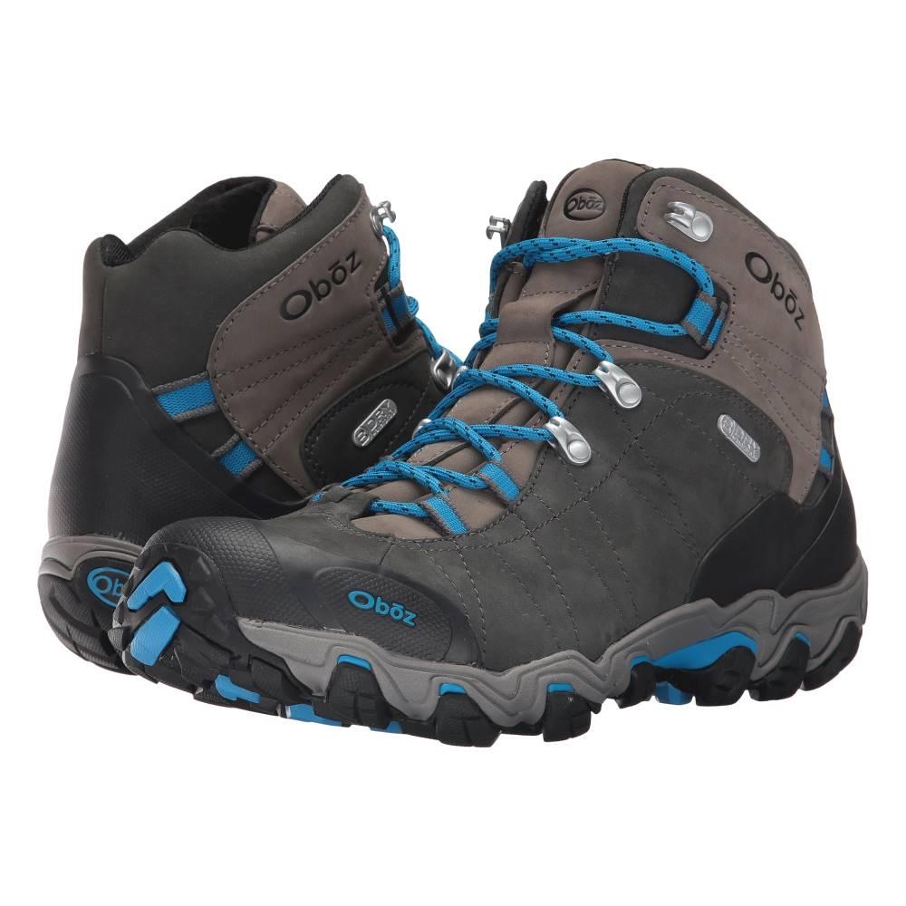 オボズ メンズ シューズ・靴 ブーツ【Bridger BDRY】Shale Gray