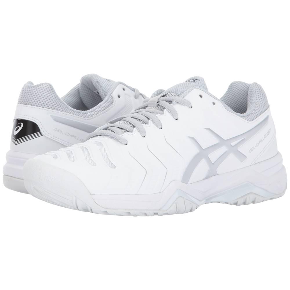 アシックス レディース テニス シューズ・靴【Gel-Challenger 11】White/Silver