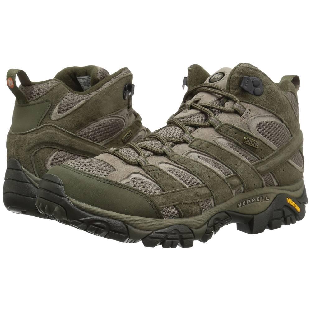 超可爱の メレル メンズ 2 メンズ ハイキング・登山 シューズ・靴【Moab 2 Mid Olive Waterproof】Dusty Olive, 犬上郡:745f9558 --- hortafacil.dominiotemporario.com