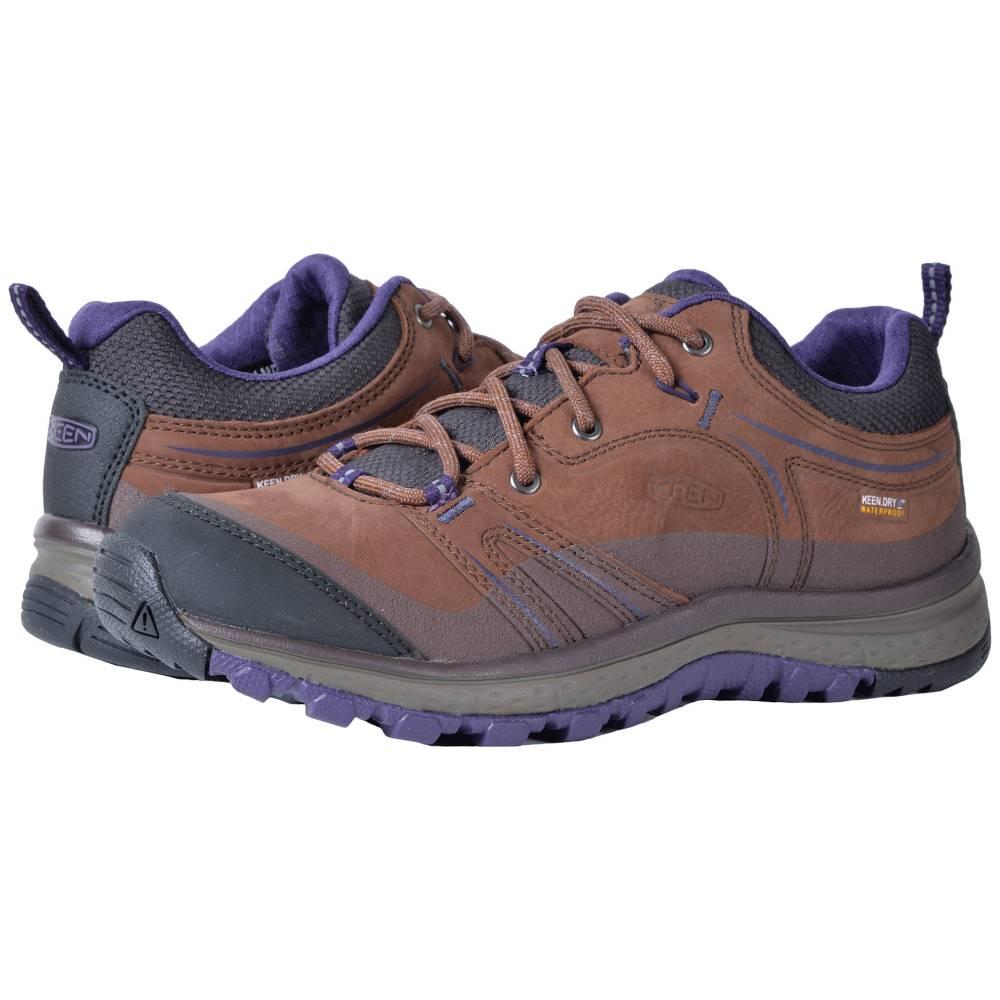 キーン レディース ハイキング・登山 シューズ・靴【Terradora Leather Waterproof】Scotch/Mulch