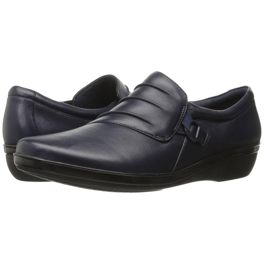 クラークス レディース シューズ・靴 ローファー・オックスフォード【Everlay Heidi】Navy Leather