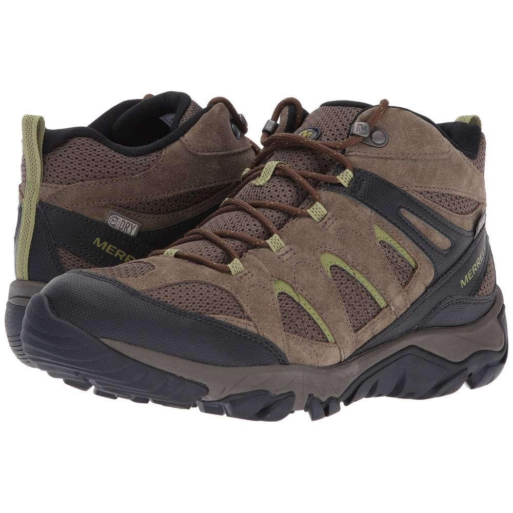 驚きの価格が実現! メレル メンズ メンズ ハイキング・登山 Mid シューズ・靴【Outmost Vent Mid Vent Waterproof】Boulder, なないろ広場:5c1df060 --- zemaite.lt