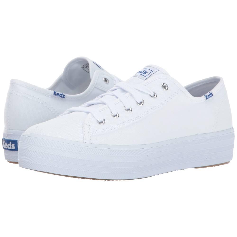 ケッズ レディース シューズ・靴 スニーカー【Triple Kick Canvas】White
