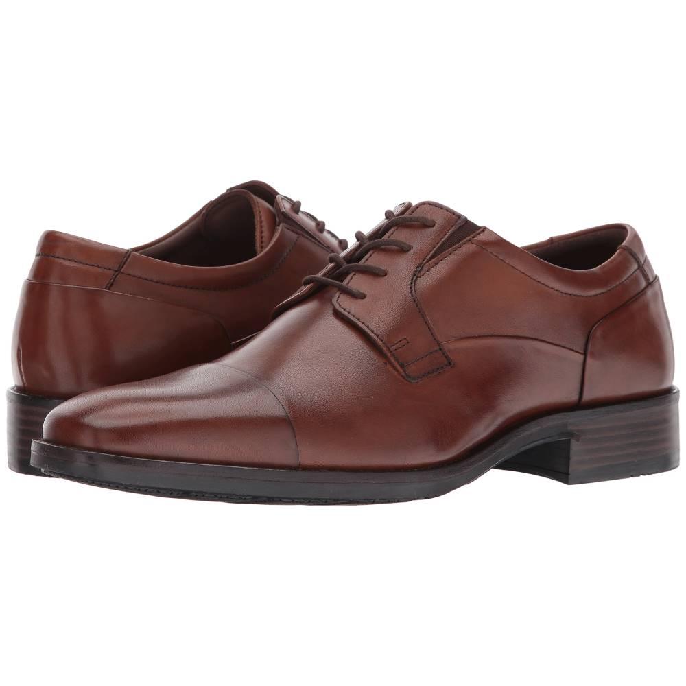 ジョンストン&マーフィー メンズ シューズ・靴 革靴・ビジネスシューズ【Lancaster Cap Toe】Tan Full Grain