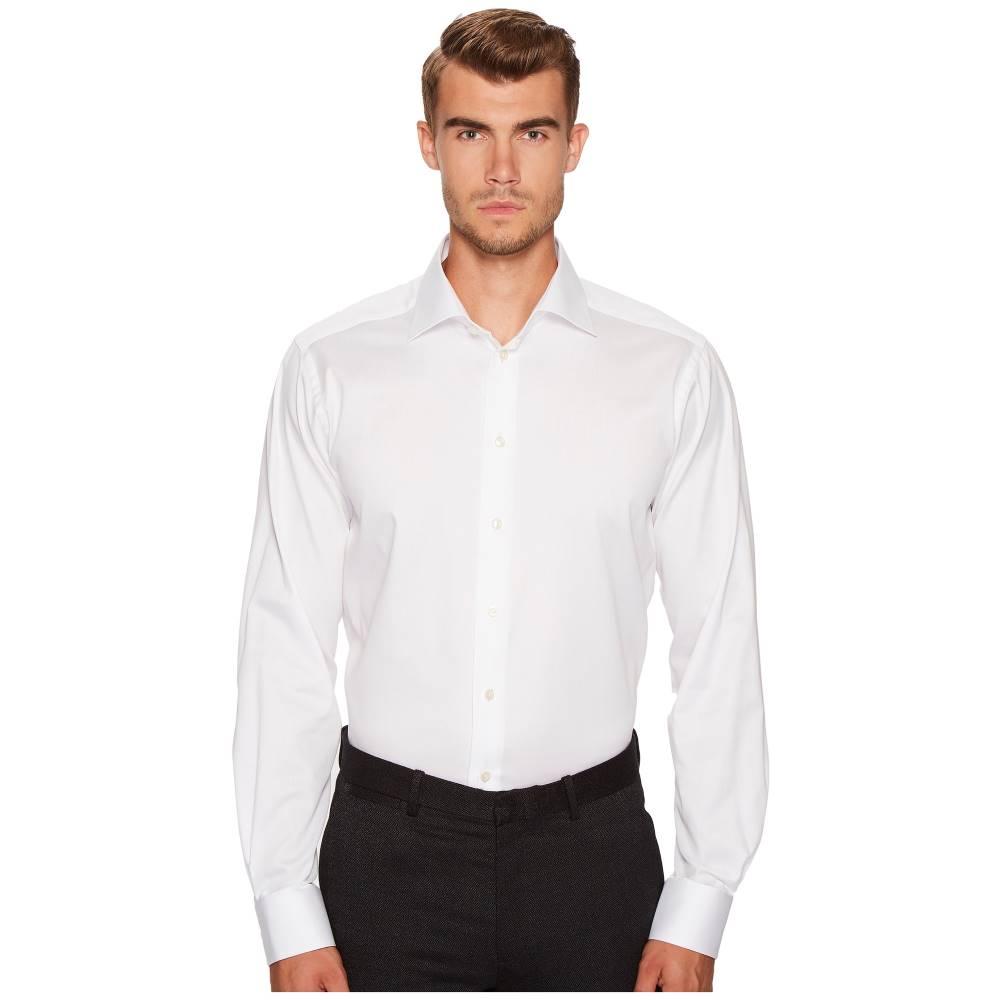 イートン メンズ トップス シャツ【Contemporary Fit Signature Twill Shirt】White