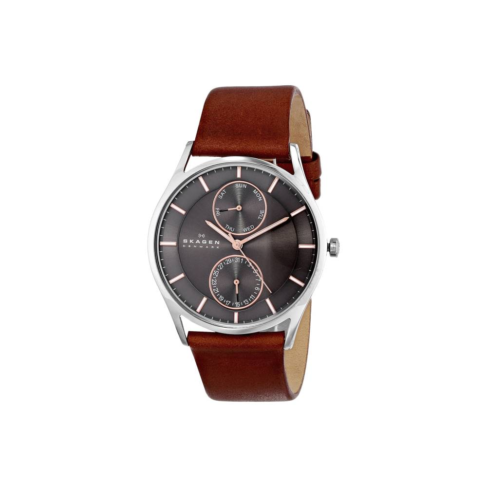 スカーゲン メンズ 財布・時計・雑貨 腕時計【SKW6086】Silver/Brown