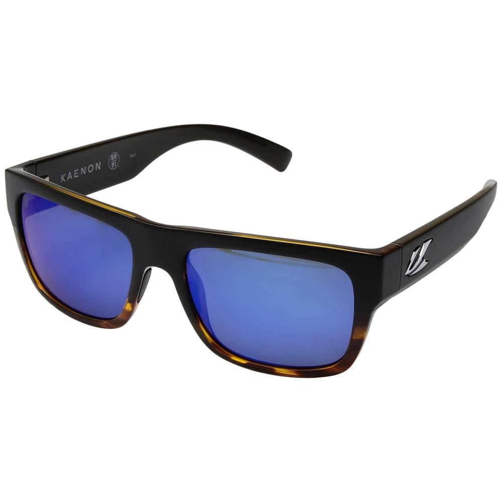カエノン メンズ ファッション小物 スポーツサングラス【Montecito】Matte Black/Tortoise/Pacific Blue Mirror