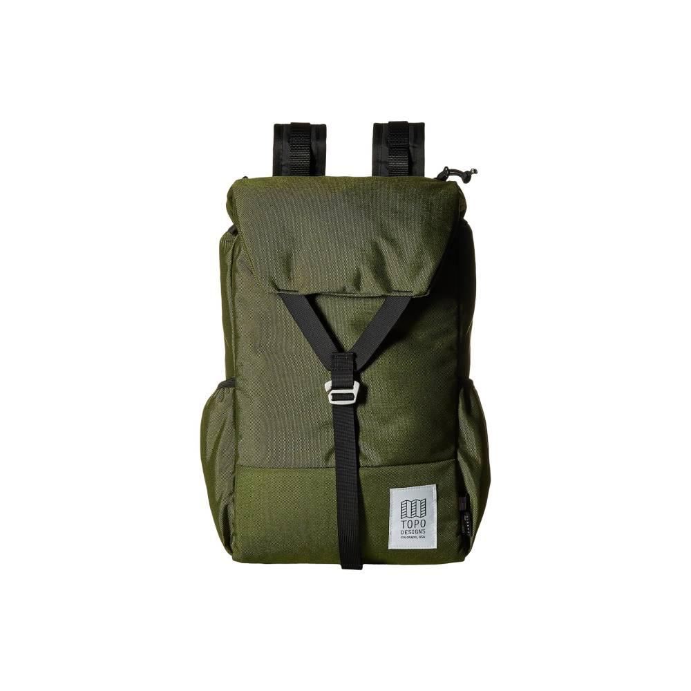 トポ デザイン メンズ バッグ バックパック・リュック【Y-Pack】Olive