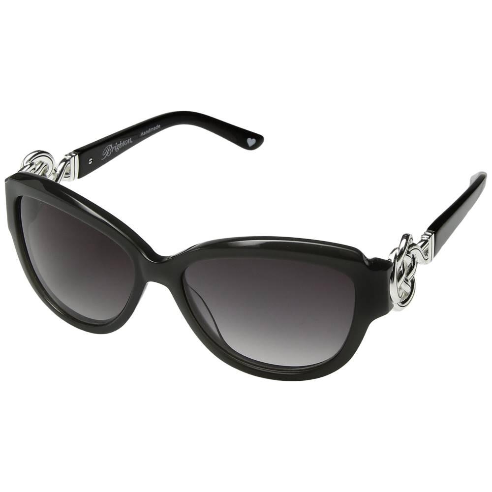 ブライトン レディース ファッション小物 メガネ・サングラス【Interlock Sunglasses】Grey/Black