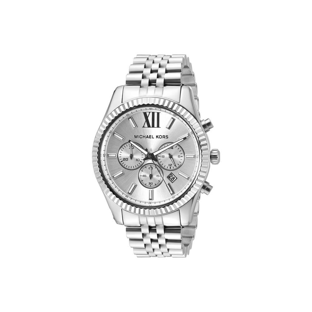マイケル コース メンズ 財布・時計・雑貨 腕時計【Lexington】MK8405 - Stainless Steel