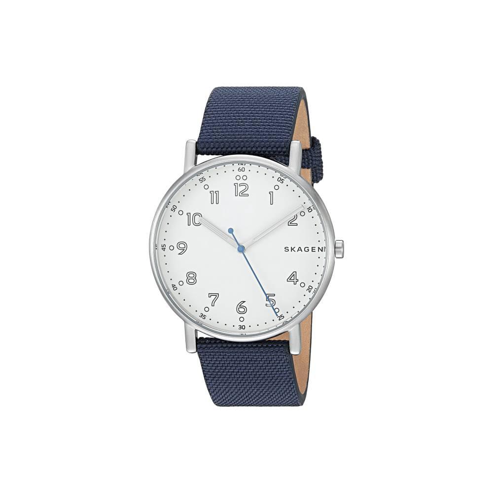 b719a5b0b4 スカーゲン メンズ 財布・時計・雑貨 腕時計【Signatur - SKW6356】Blue 人気を誇る