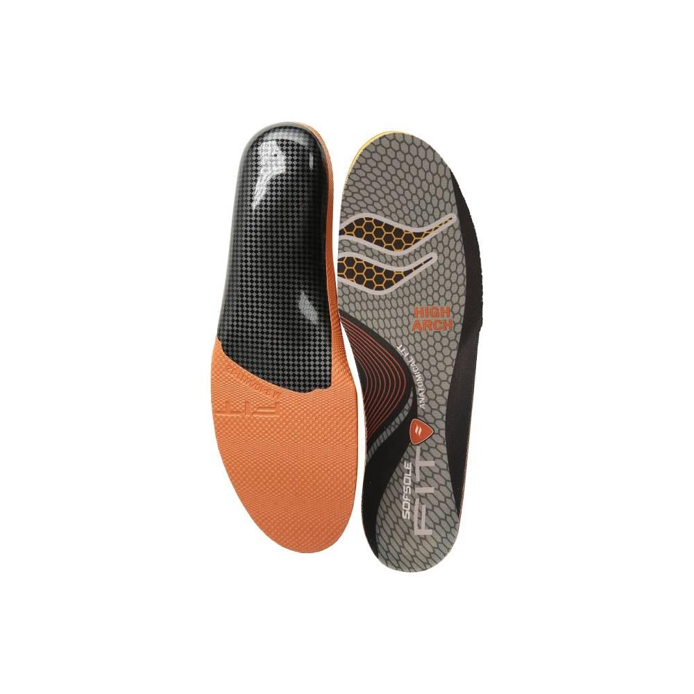 ソフソール メンズ シューズ・靴 インソール・靴関連用品 Fit Series Low Arch Insole Black BluekPwOn0
