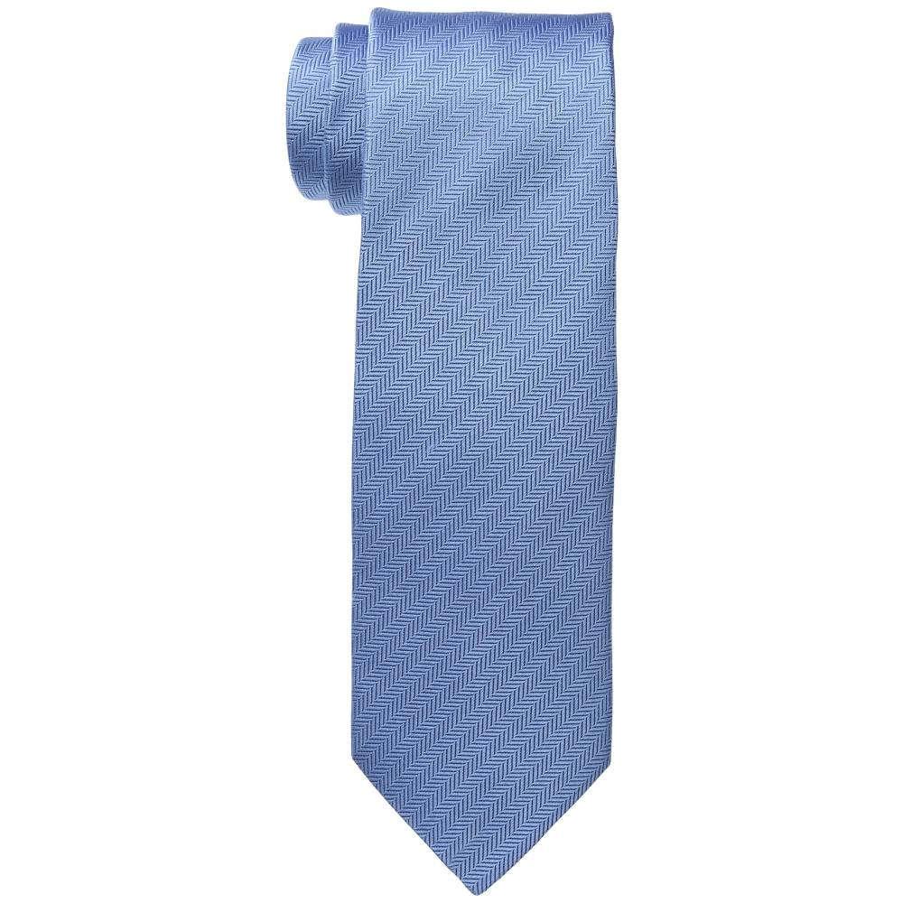 イートン メンズ ファッション小物 ネクタイ【8cm Herringbone Tie】Light Blue
