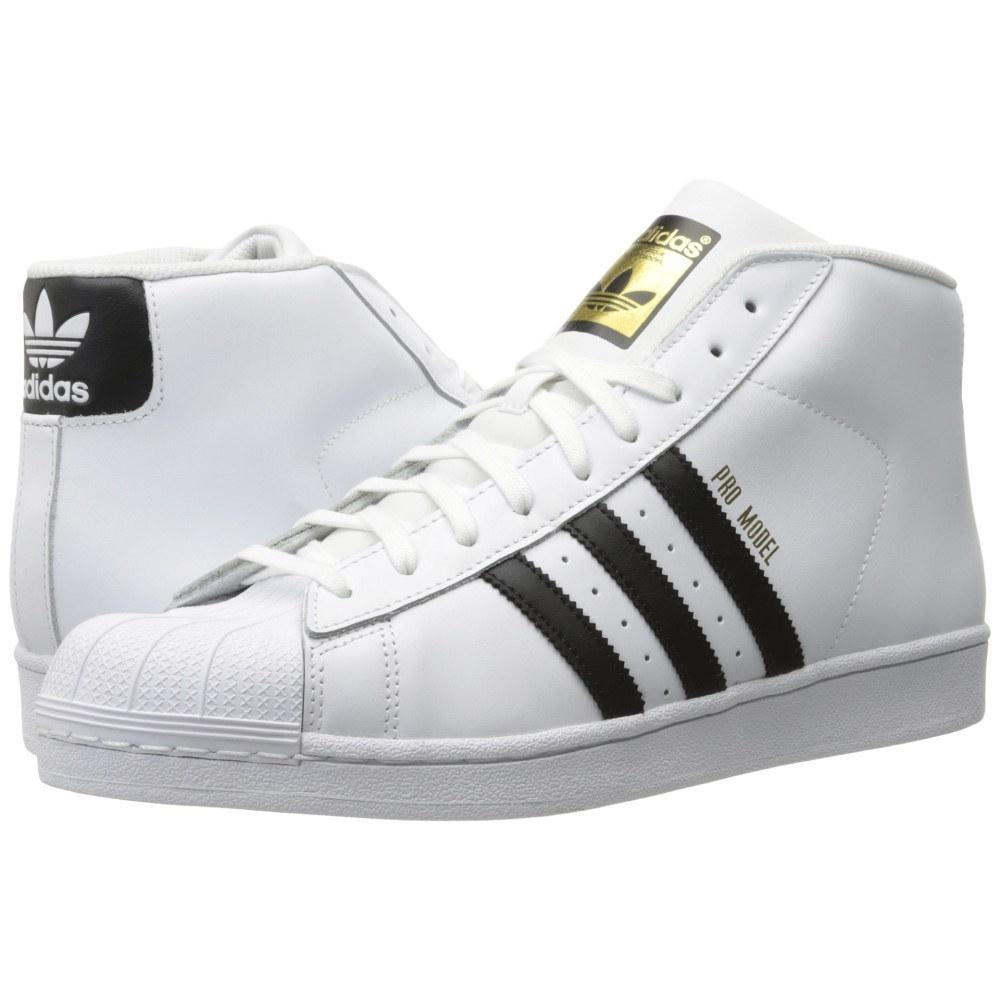 アディダス メンズ バスケットボール シューズ・靴【Pro Model】Footwear White/Core Black/White