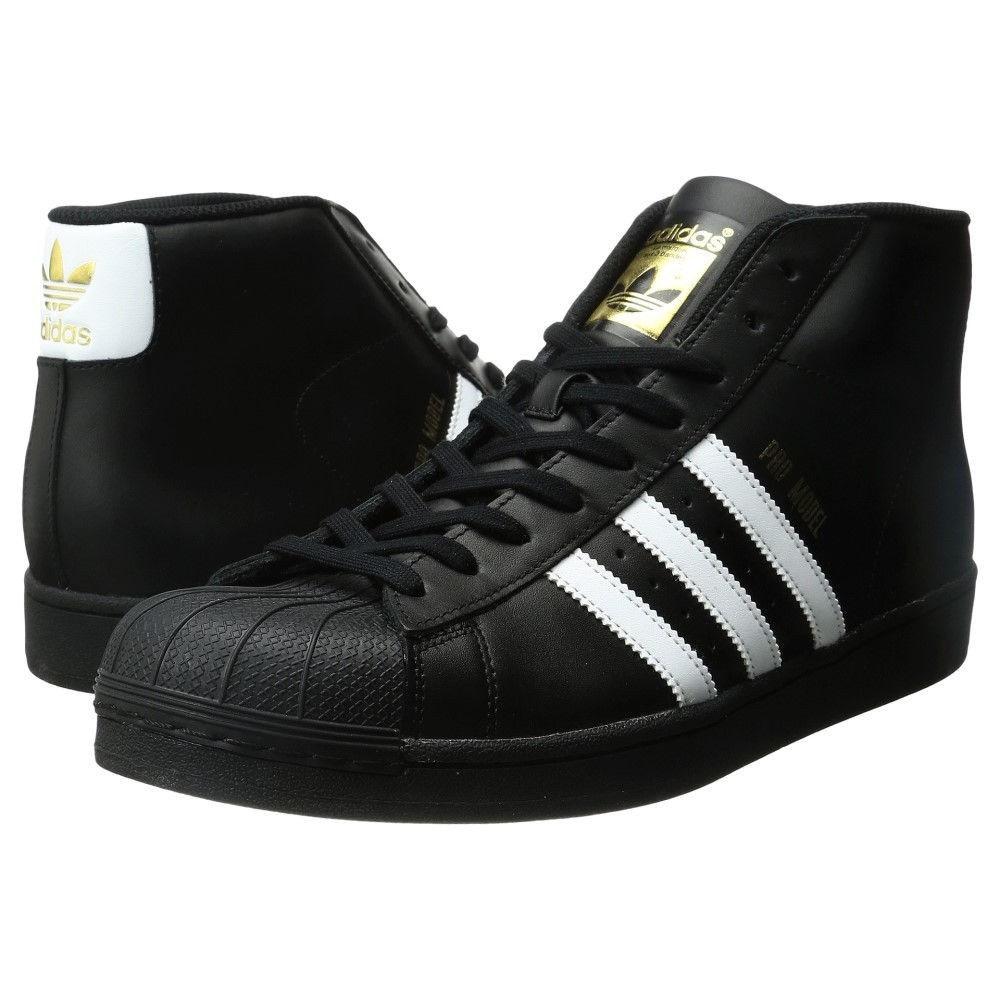 アディダス メンズ バスケットボール シューズ・靴【Pro Model】Core Black/Footwear White/Gold Metallic