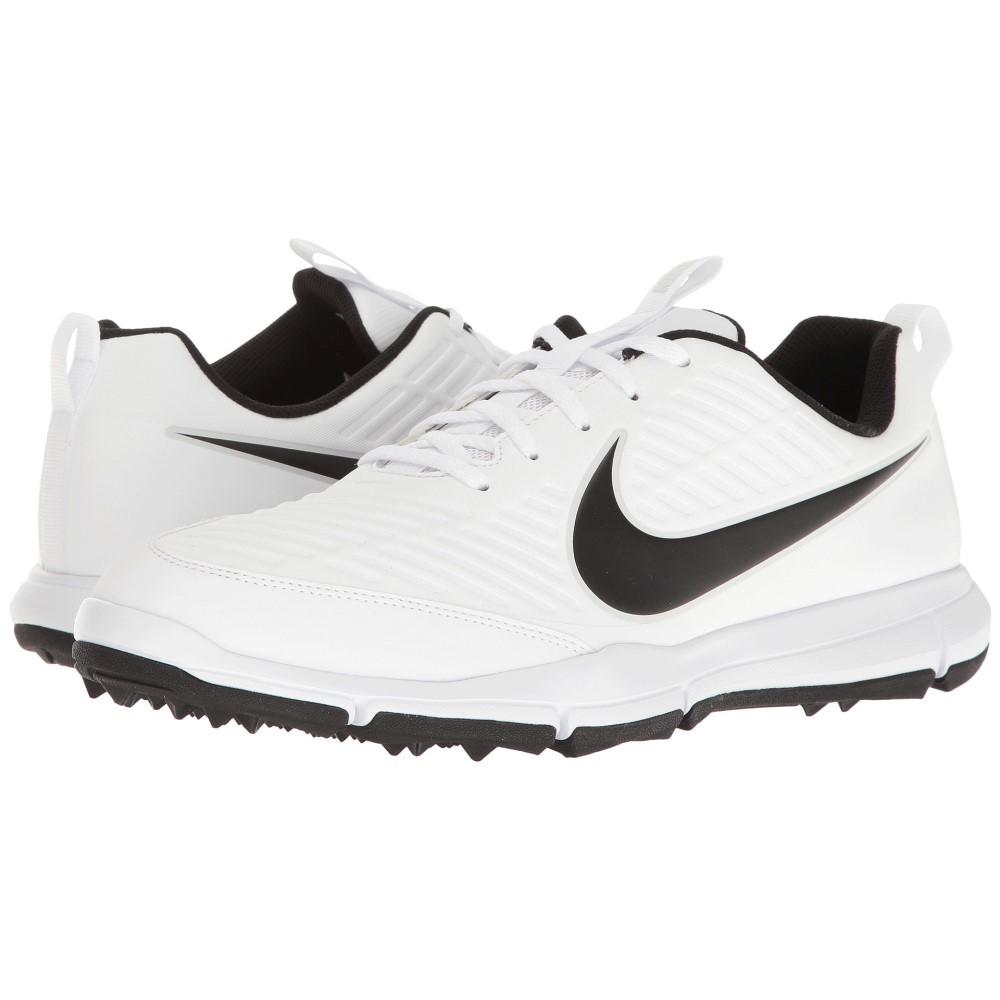 ナイキ メンズ ゴルフ シューズ・靴【Explorer 2】White/White/Pure Platinum/Metallic Silver
