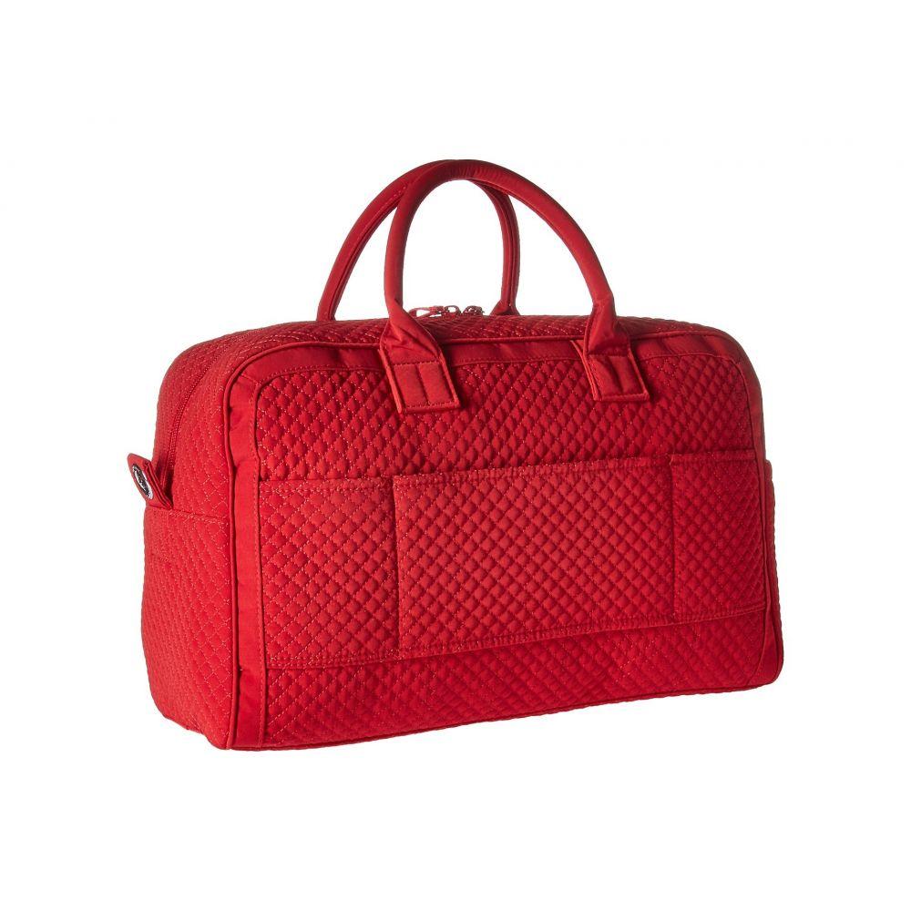 ヴェラ ブラッドリー レディース バッグ ボストンバッグ・ダッフルバッグ【Iconic Compact Weekender Travel Bag】Cardinal Red