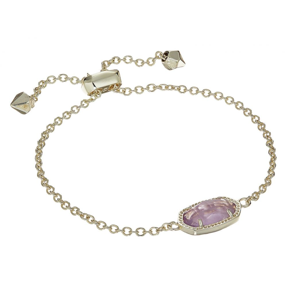 ケンドラ スコット レディース ジュエリー・アクセサリー ブレスレット【Elaina Birthstone Bracelet】February/Gold/Amethyst Quartz