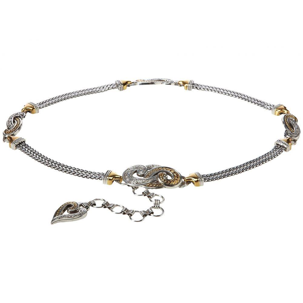 ブライトン レディース ベルト【Bali Hai】Gold/Silver