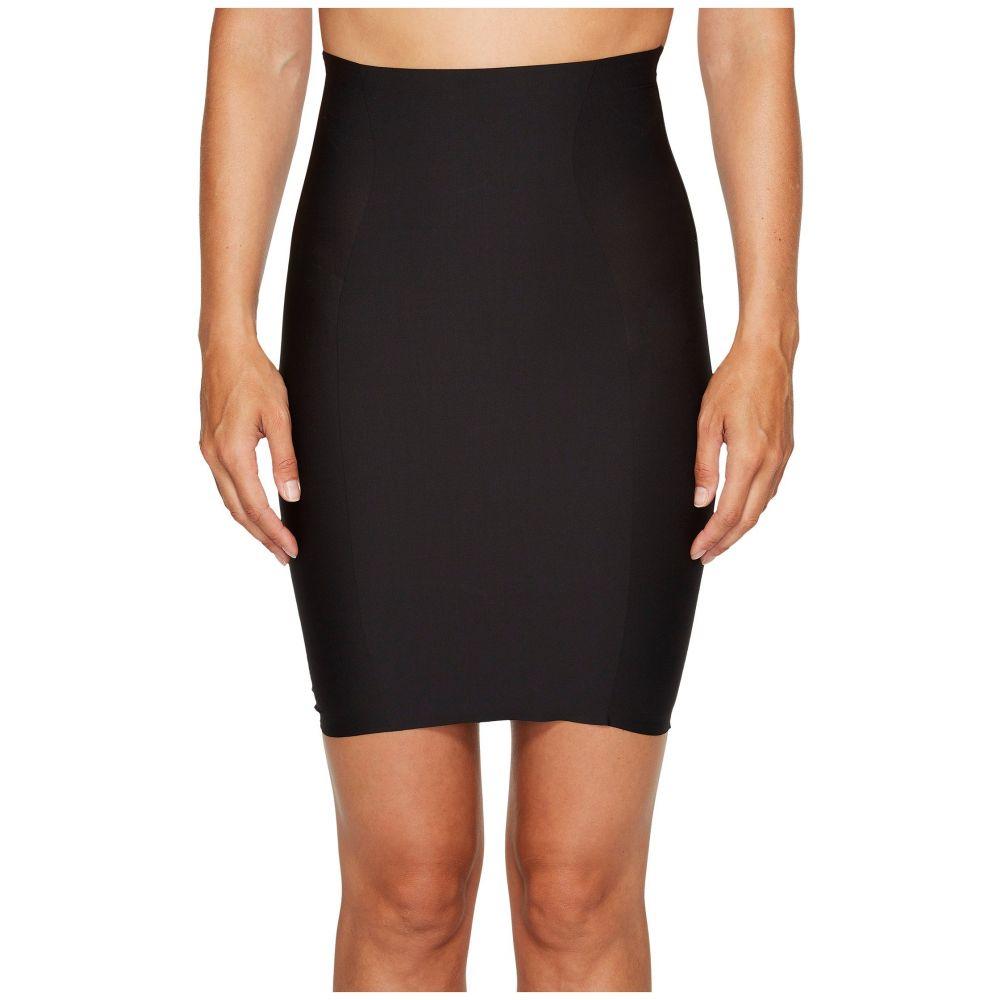 ユミエ レディース インナー・下着【Hidden Curves High-Waisted Skirt Slip】Black