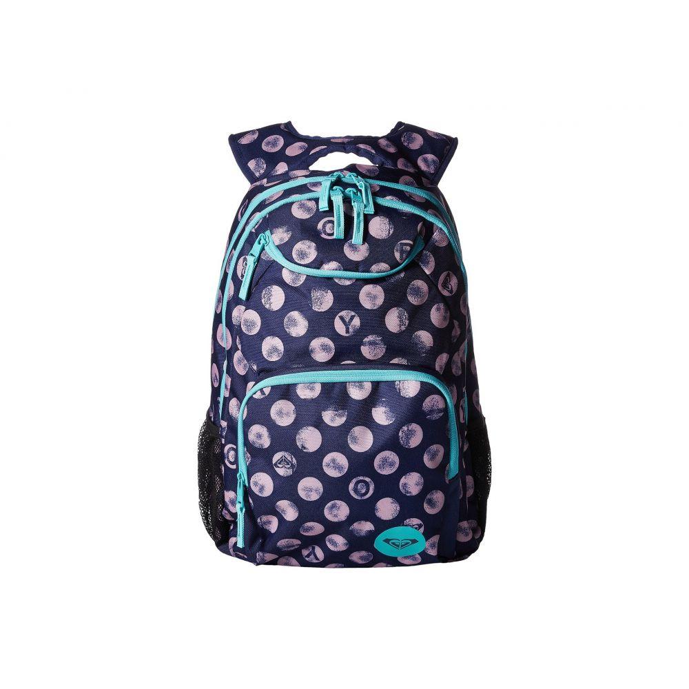 ロキシー レディース バッグ バックパック・リュック【Shadow Swell Backpack】Patriot Blue Roxy Dots