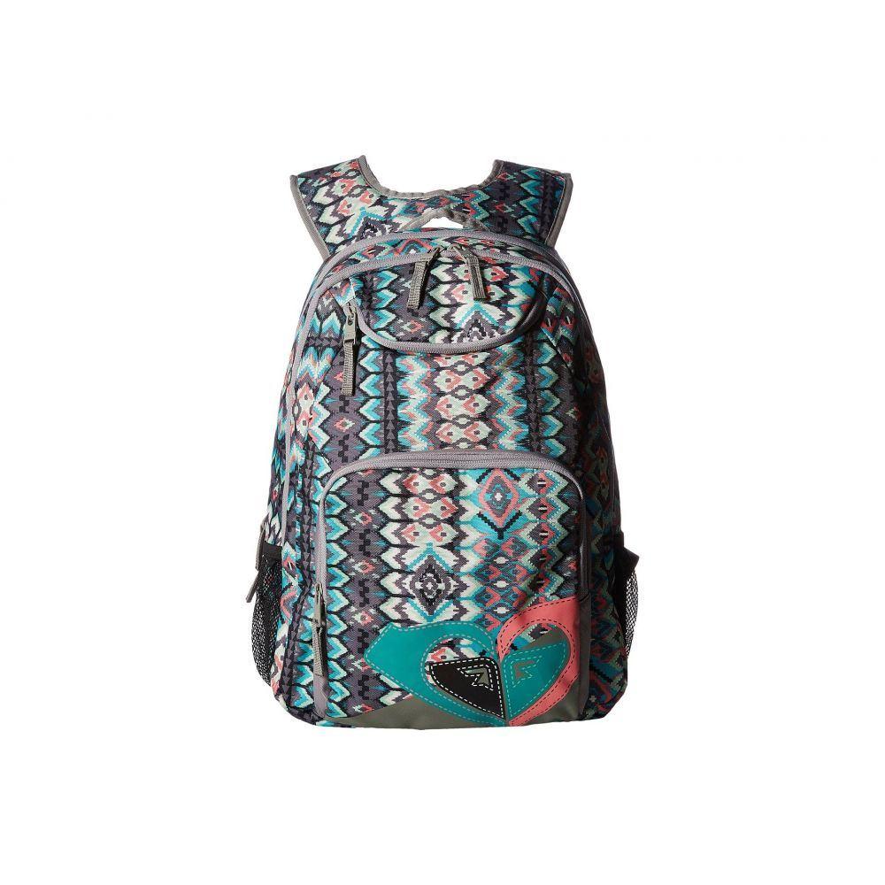 ロキシー レディース バッグ バックパック・リュック【Shadow Swell Backpack】Baltic Blue Scottsdale Ethnic