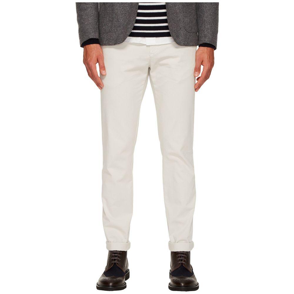 イレブンティ メンズ ボトムス・パンツ【Flat Front Regular Fit Stretch Cotton Pants】Sand