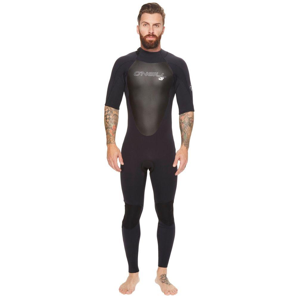 オニール メンズ 水着・ビーチウェア ウェットスーツ【Epic 2mm Short Sleeve Full Wetsuit】Black/Black/Black