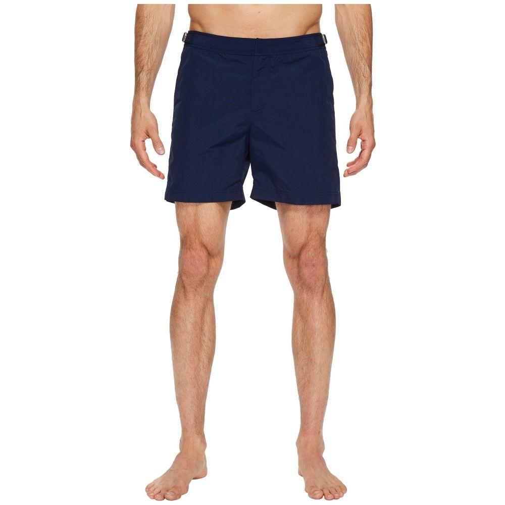 オールバー ブラウン メンズ 水着・ビーチウェア 海パン【Bulldog Swimsuit】Navy