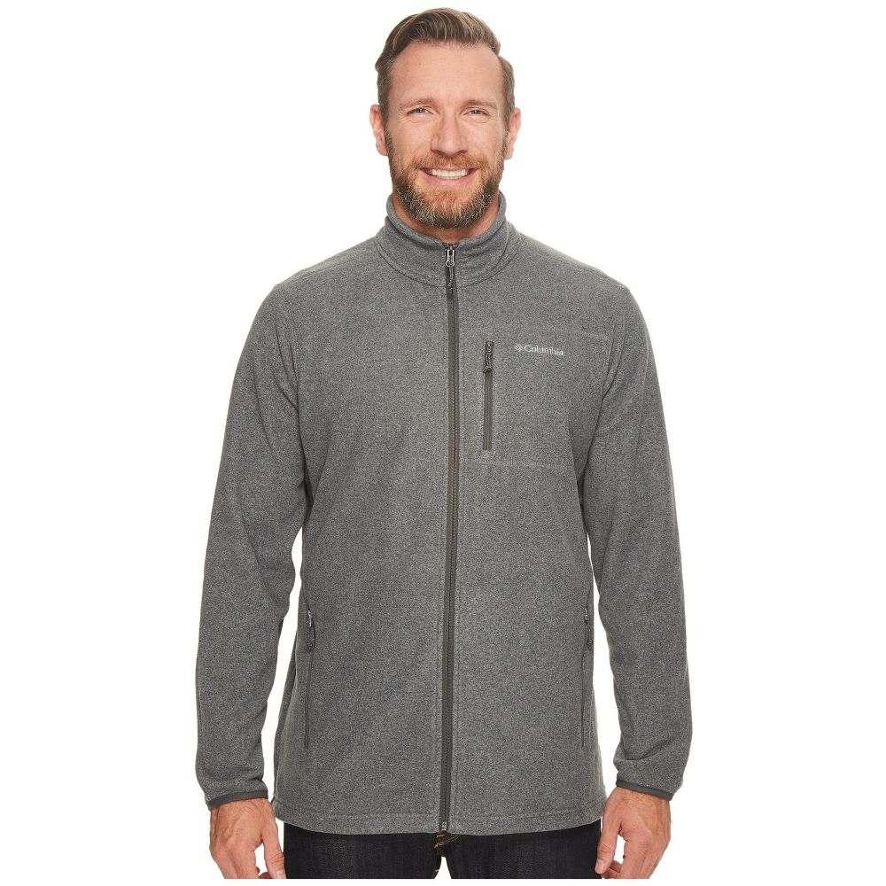 コロンビア メンズ トップス フリース【Big & Tall Cascades Explorer Full Zip Fleece】Charcoal Heather
