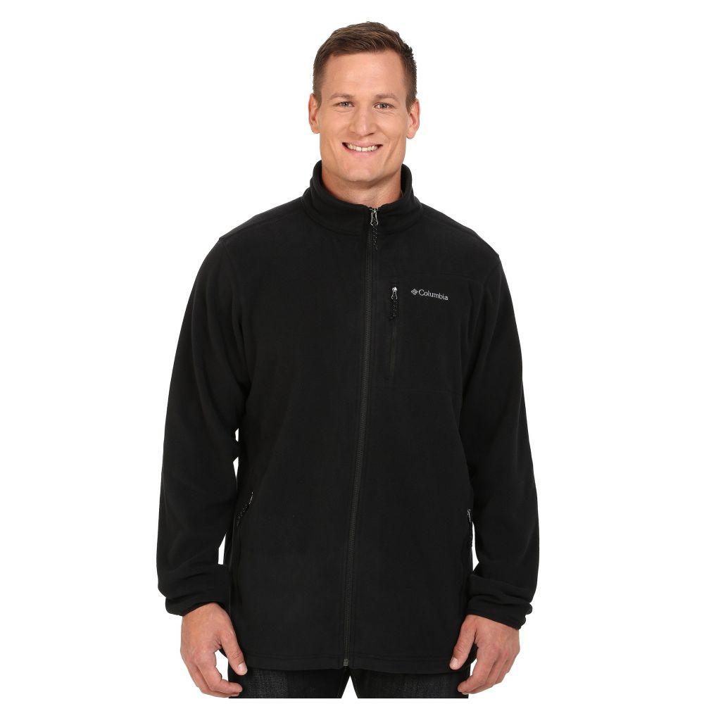 コロンビア メンズ トップス フリース【Big & Tall Cascades Explorer Full Zip Fleece】Black