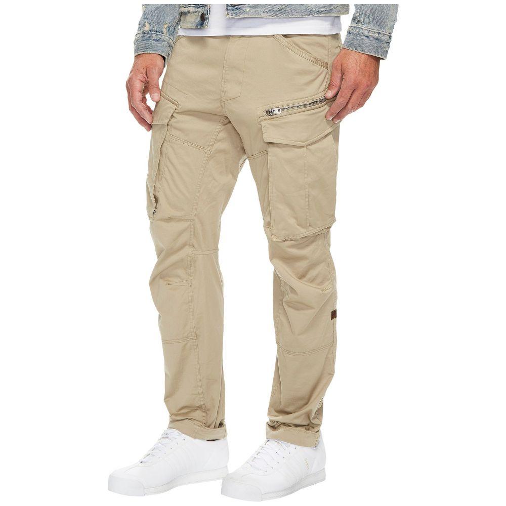 ジースター ロゥ メンズ ボトムス・パンツ【Rovic Zip 3D Tapered Fit Pants in Premium Micro Stretch Twill Dune】Dune