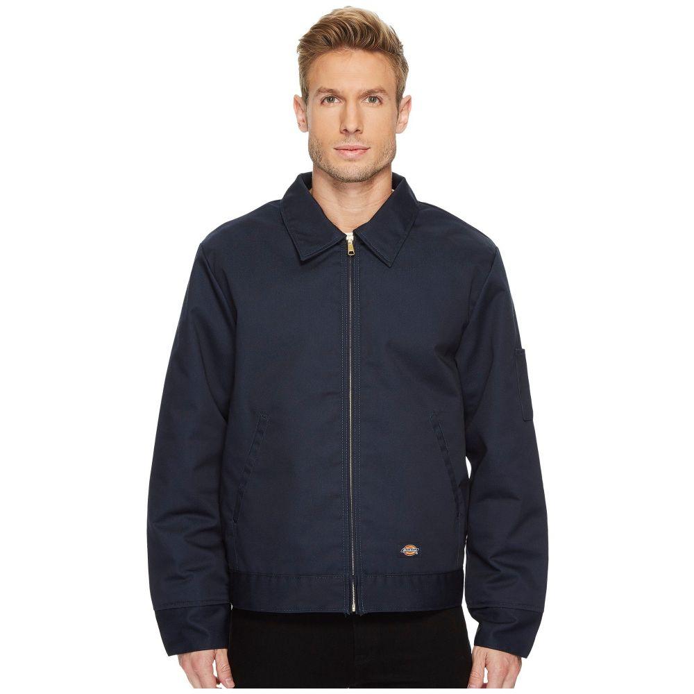 ディッキーズ メンズ アウター ジャケット【Insulated Twill Eisenhower Jacket】Dark Navy