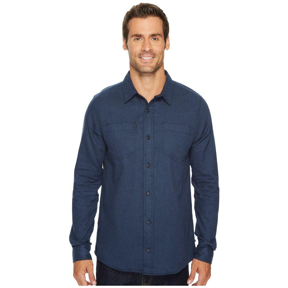 トードアンドコー メンズ トップス シャツ【Flannagan Solid Long Sleeve Shirt】Deep Navy Heather